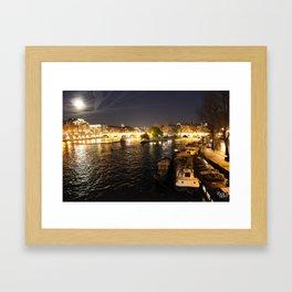 La Seine Framed Art Print