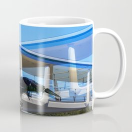 Metallic Palm Coffee Mug