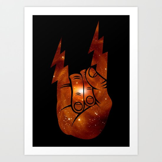 Space Rocks Art Print