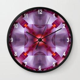 Haiku Pattern Wall Clock