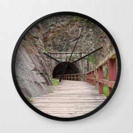 Paw Paw Tunnel Wall Clock