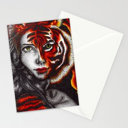 The True Nature Of A Soul Stationery Cards
