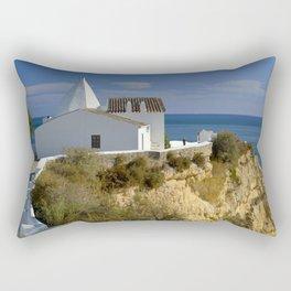 Nossa Senhora da Rocha chapel, Portugal, the Algarve Rectangular Pillow