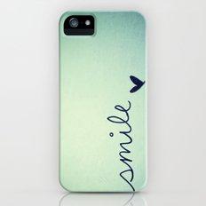 s  m  i  l  e  iPhone (5, 5s) Slim Case