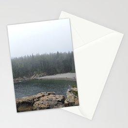 Acadia Maine Beach Stationery Cards