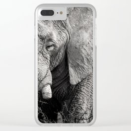 Look of an Elephant Clear iPhone Case