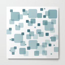 Turquoise Box Metal Print