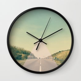 Road Trip II Wall Clock