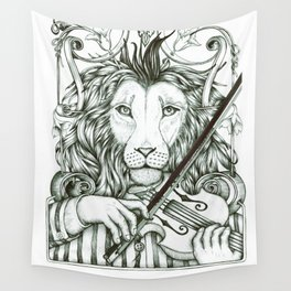 Lionviol Wall Tapestry