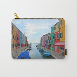Lace Island - end of the street Carry-All Pouch