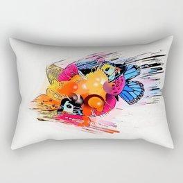 Big Bang by Nico Bielow Rectangular Pillow