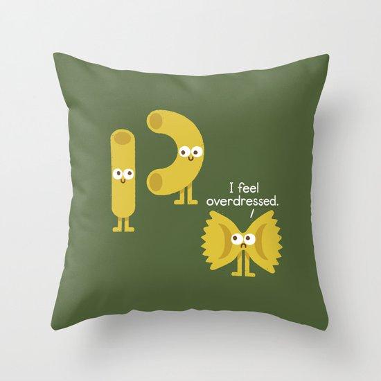 Pasta Party Throw Pillow