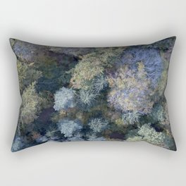 AUTUMN forests from above Rectangular Pillow