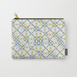 Colorful Check Geometric Pattern Carry-All Pouch