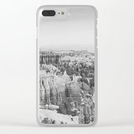 BRYCE CANYON III Clear iPhone Case