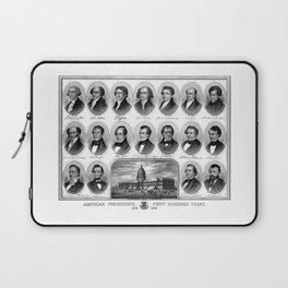 American Presidents - First Hundred Years Laptop Sleeve