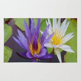 Loving Lotuses Rug