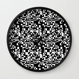 geometric decomposition in black Wall Clock