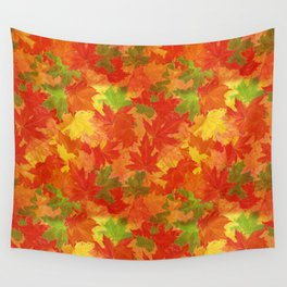 Autumn leaves #17 Wall Tapestry