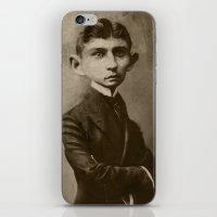 kafka iPhone & iPod Skins featuring Kafka by Jason Seiler