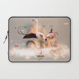 Flamingo land Laptop Sleeve