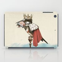 king iPad Cases featuring King Fisher by Eric Fan