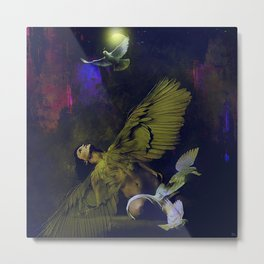 The revelation of the angel Metal Print