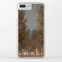Take it all In Clear iPhone Case