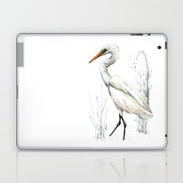 Mr Kotuku , New Zealand White Heron Laptop & iPad Skin