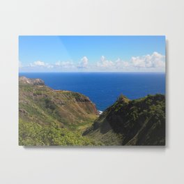 Beautiful colors of the West side of Maui Metal Print