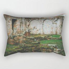 Culross Abbey - Scotland Rectangular Pillow