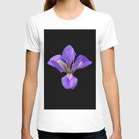iris T-shirts featuring Iris by Trevor Jolley