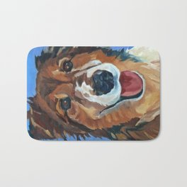 Myles the Dog Bath Mat