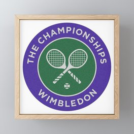 wimbledon Framed Mini Art Print