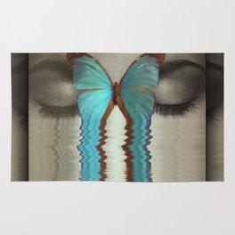 Butterfly Tears Rug