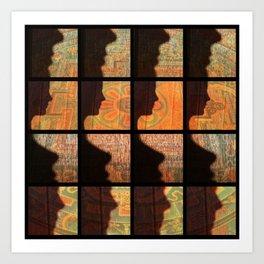 Fax Shadow Art Print