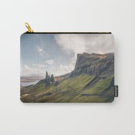 Landscape mountain view Scotland Isle of Skye Carry-All Pouch