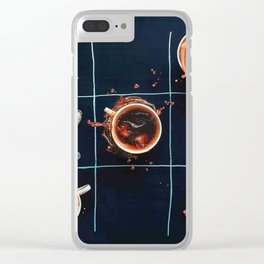 Breakfast Game Clear iPhone Case