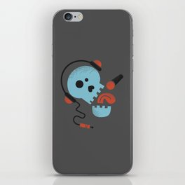 Calavera rockera / Rocking skull iPhone Skin