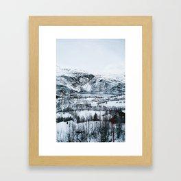 Oslo ⇒ Flåm Framed Art Print