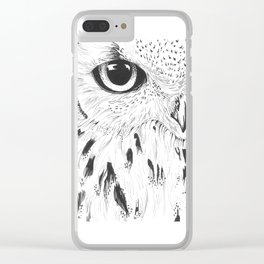 Hedwig Clear iPhone Case