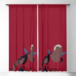 Aqualad Minimalism Blackout Curtain