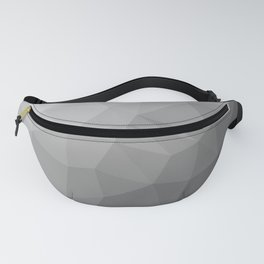 LOWPOLY BLACK AND WHITE Fanny Pack