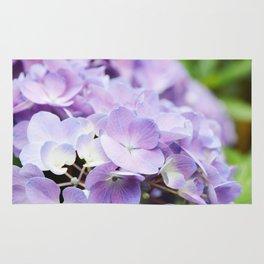 Light Purple Hydrangea Rug