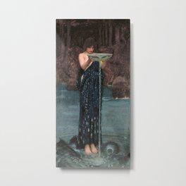 Circe Invidiosa - John William Waterhouse Metal Print