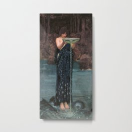 Circe Invidiosa - John William Waterhouse Metal Print