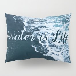 Water is Life Pillow Sham