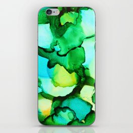 Blue & Green - should be seen iPhone Skin