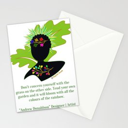 Tend your own garden Stationery Cards