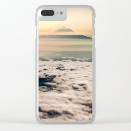 The West is Burning - Mt Hood Clear iPhone Case